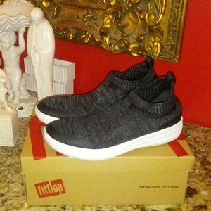 1031 Fitflop Uberknit Slip On Sneakers